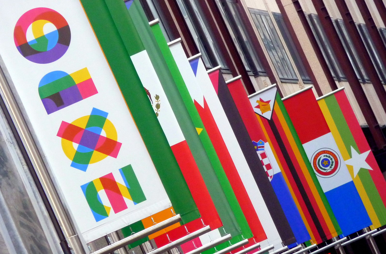 expo 2015 flags milano